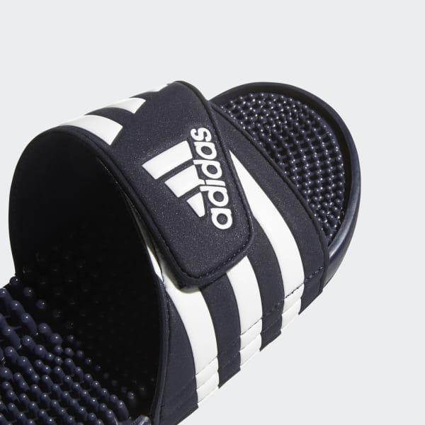 09cf231190b adidas Adissage Slides - Blue