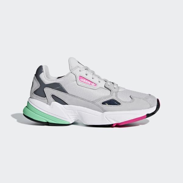01 >> adidas Falcon Shoes - Grey | adidas UK