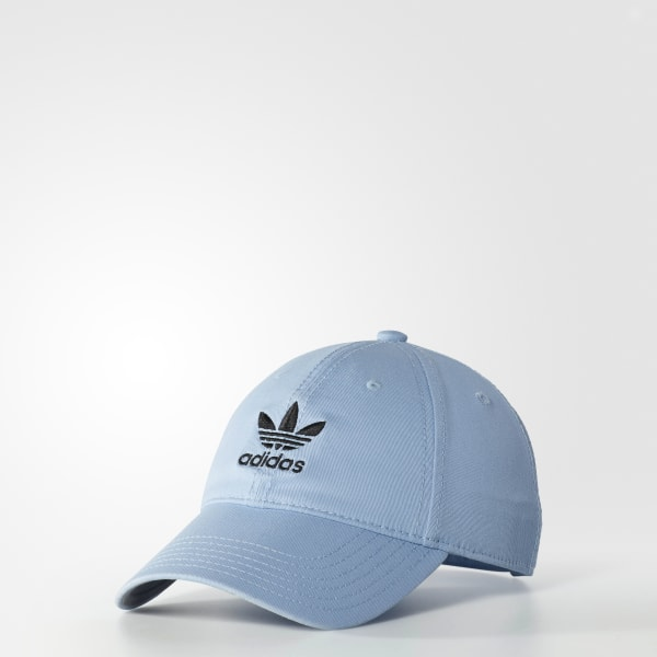 e1104e6c35c54 adidas Relaxed Washed Cap - Blue