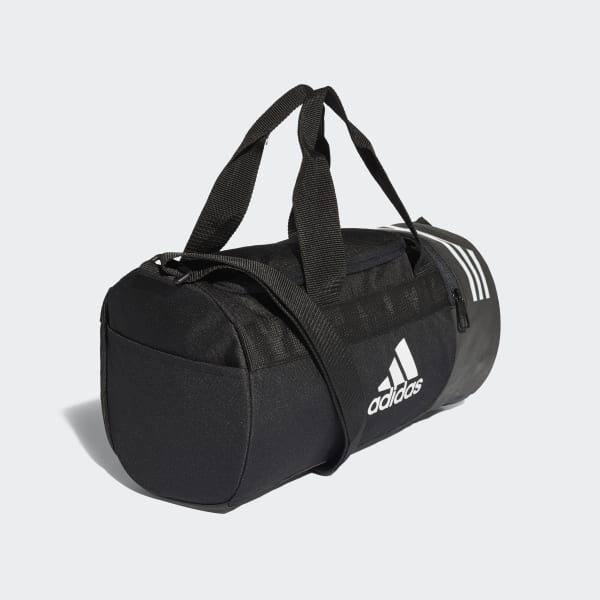 9b7106fb46a30 adidas Convertible 3-Stripes Duffel Bag Extra Small - Black