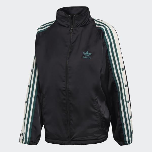 77ac939cb5668 adidas ADIBREAK TRACK TOP SATIN - Black | adidas Australia