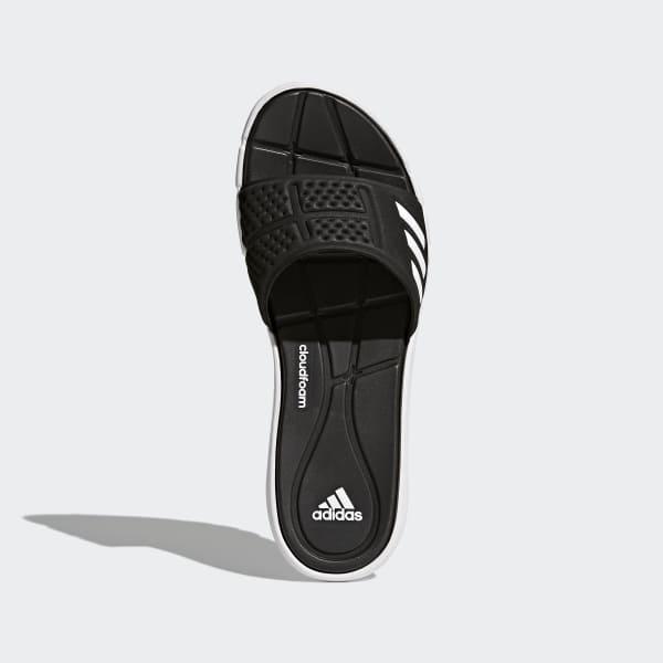 ebecfd158c75 adidas adipure Cloudfoam badesandaler - Sort