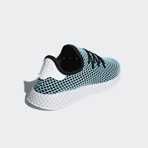 cheap for discount 10376 6cb6e adidas Deerupt Runner Parley Shoes - Turquoise  adidas UK