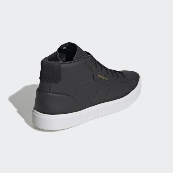 adidas Sleek Mid Shoes - Black | adidas UK