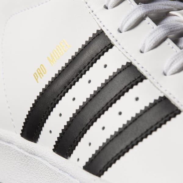 14e7ffffba93 adidas Pro Model Shoes - White