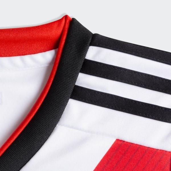 eb49bbe913f8d adidas Mini Kit Titular de Local Club Atlético River Plate - Blanco ...