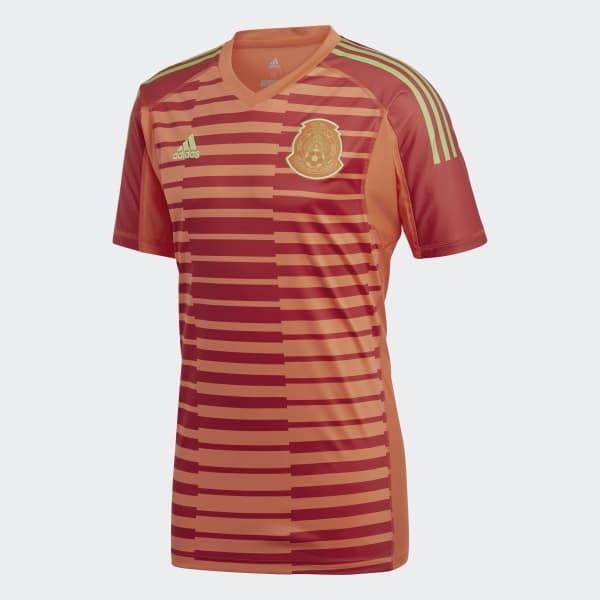 Adidas jersey oficial de arquero selección de méxico local rojo adidas  mexico jpg 600x600 Arquero la 09928a7f00d52