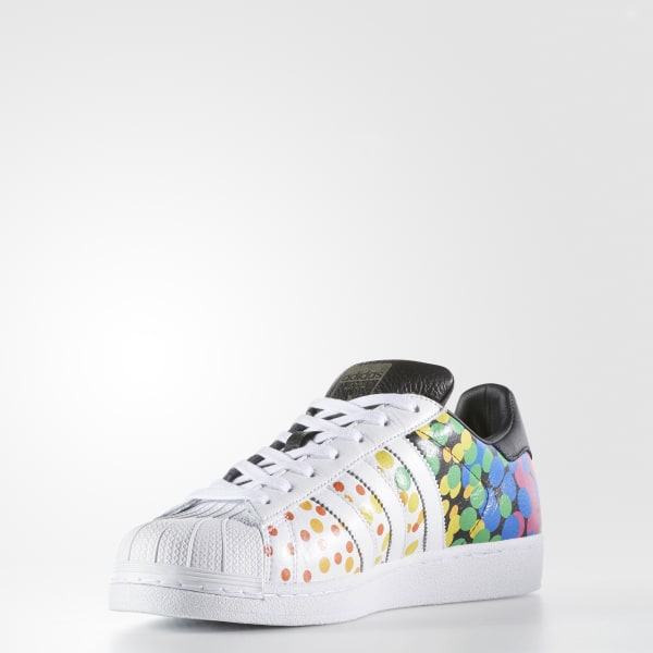 new arrival dbb8f 8bba1 Pride Pack Superstar Shoes