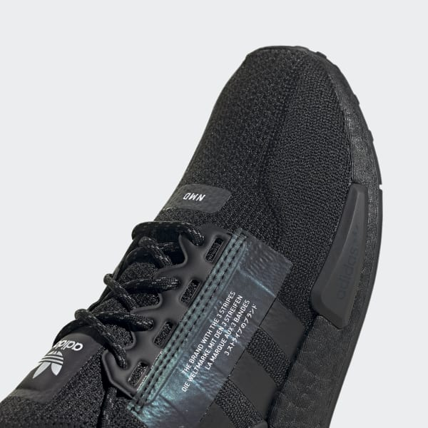 2020 New Adidas NMD R1 Boost V2 Triple Black FW1961 For Sale
