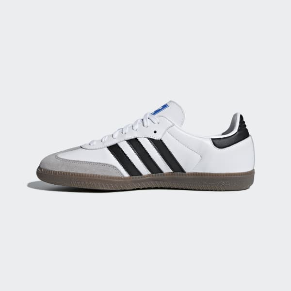 Adidas Samba Og Shoes In White And Black Adidas Uk