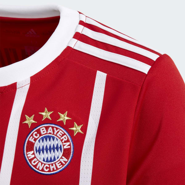678cb2129e9fb adidas Camiseta de Local FC Bayern Múnich - Rojo