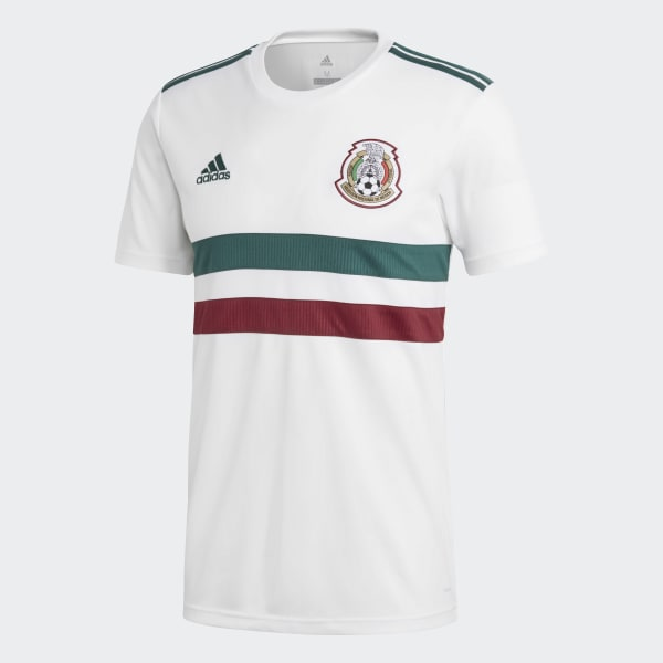 52952704d adidas Mexico Away Jersey - White