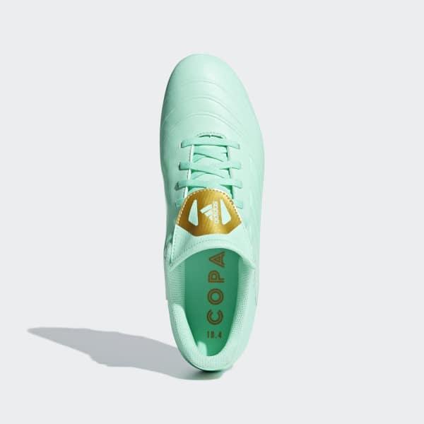 adidas Guayos Copa 18.4 Multiterreno - Verde  c059f277f5638