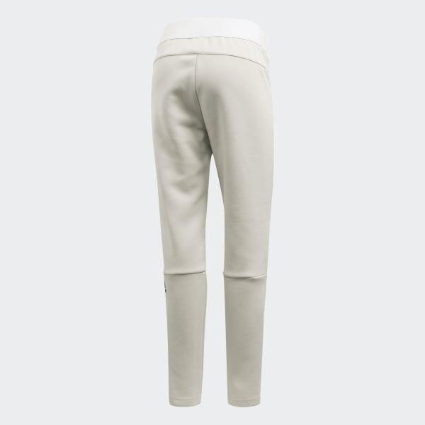 Cuffed Pants Women's Adidas Originals Pants Clothing Raw White