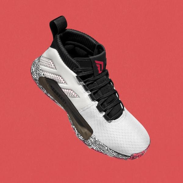 adidas cloudfoam superhoops mid sneakers wit dames