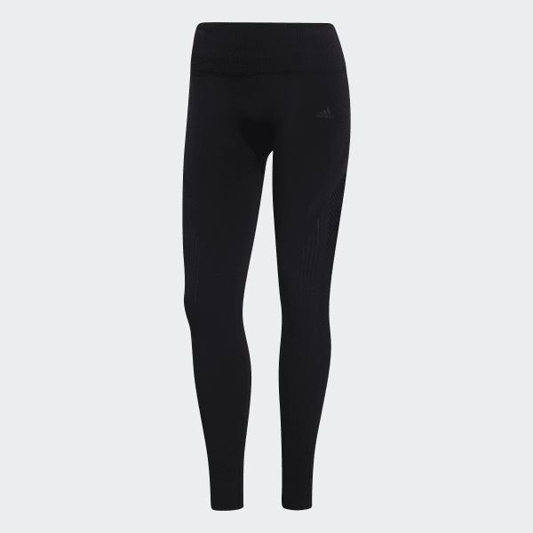 018a0bb3b9b05 adidas Warp Knit 7/8 Tights - Black | adidas Australia