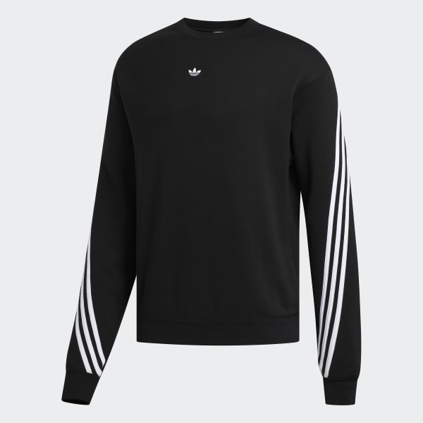 adidas Originals Sweater 3 Stripes Black