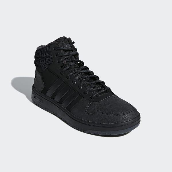 3bd52e85 adidas Высокие кеды Hoops 2.0 Mid - черный | adidas Россия