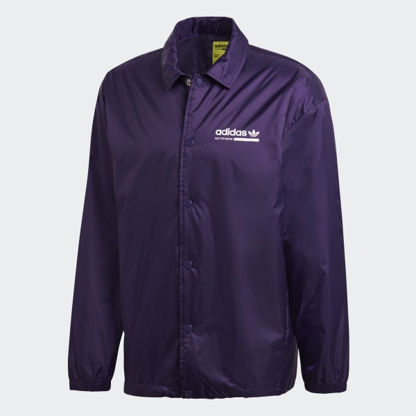 9b4fda1ef2a0 adidas Kaval Jacket - Purple