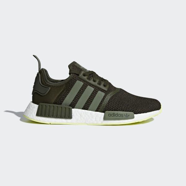 adidas NMD_R1 Shoes - Green | adidas US | Tuggl