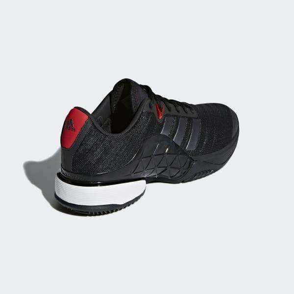 zapatillas Adidas Barricade Clay Negras 2018