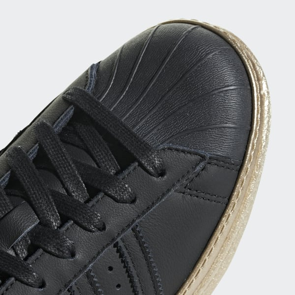ec12711a34b6f2 adidas Superstar 80s New Bold Shoes - Black