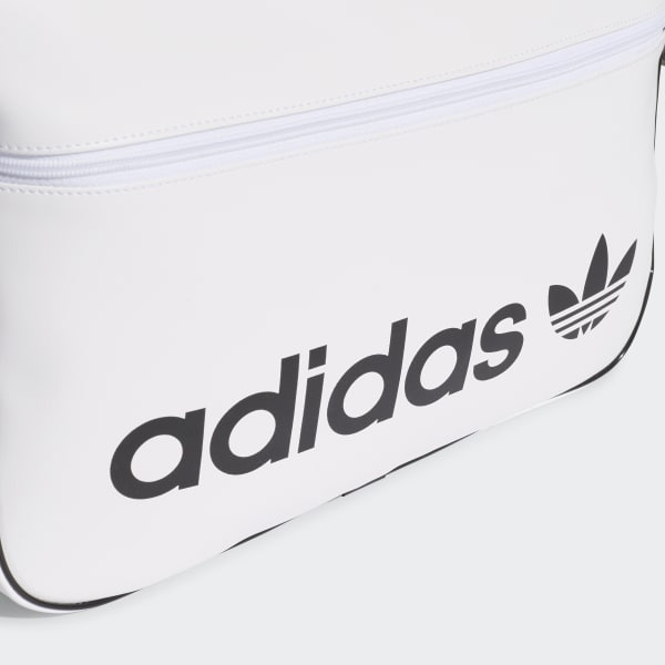 d2ff2278 adidas Vintage Airliner Bag - White | adidas US