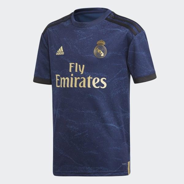 adidas Real Madrid Jeugd Uittenue Blauw | adidas Officiële Shop