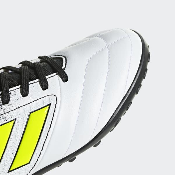 adidas Calzado de Fútbol ACE 17.4 Césped Artificial - Blanco ... f3edfa7825097