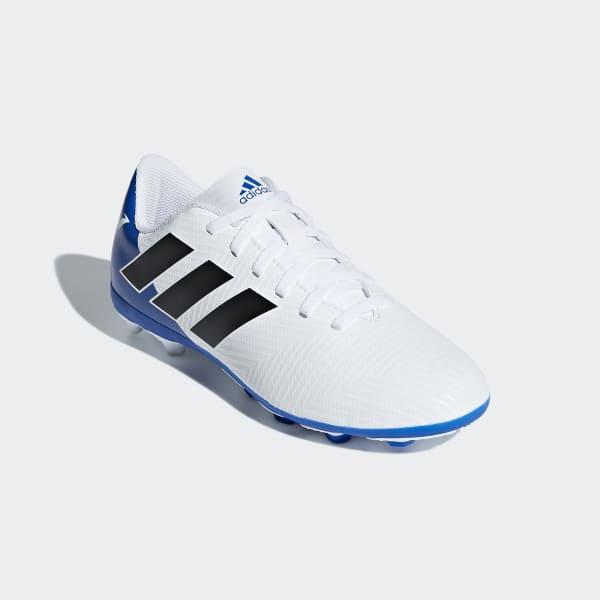8c9f0a2d25dbb Chuteira Nemeziz Messi 18.4 Fxg - Branco adidas