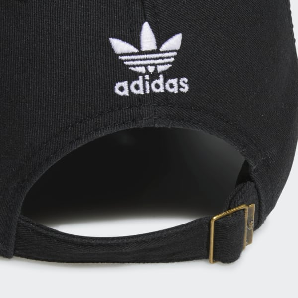 best service 69e9c 39f13 adidas Originals Relaxed Strap-Back Hat - Black   adidas US