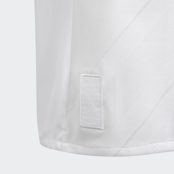 d0b71ec691ac4 Camisa Real Madrid 1 Infantil - Branco adidas
