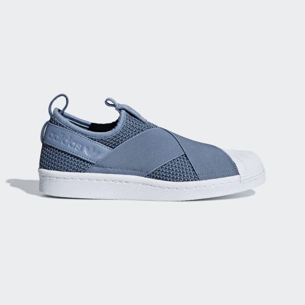adidas Superstar Slip-on Shoes - Blue
