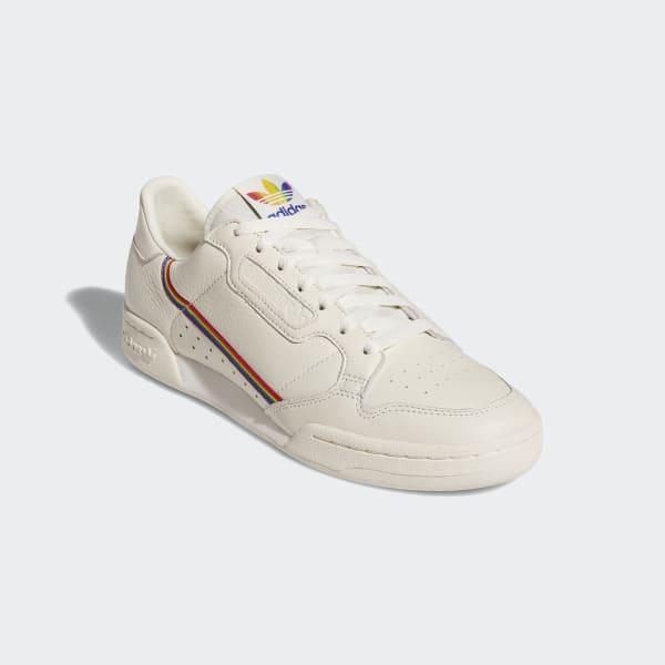 adidas Continental 80 Pride Shoes - White | adidas US
