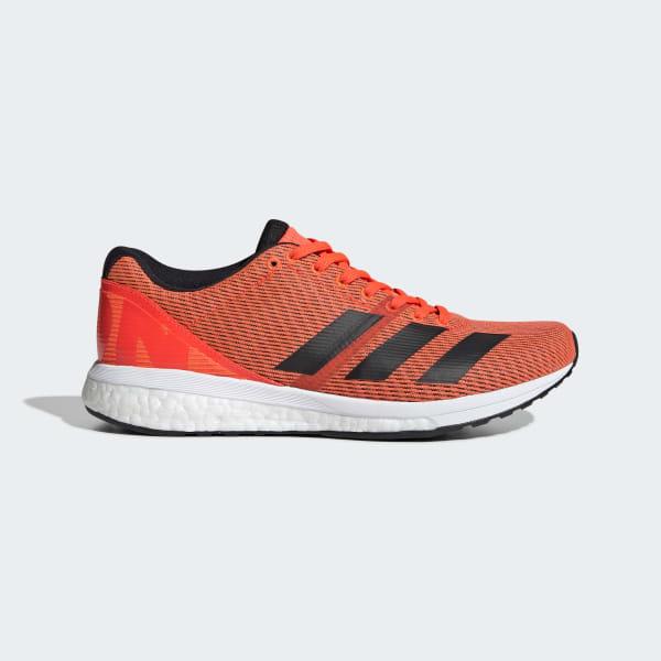 adidas Adizero Boston 8 Shoes - Orange   adidas UK