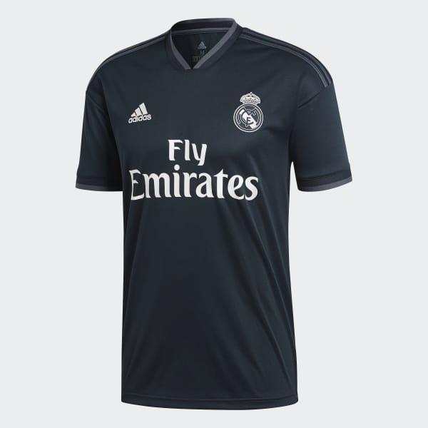 Camisa Real Madrid 2 - Cinza adidas  c489224b29ab7