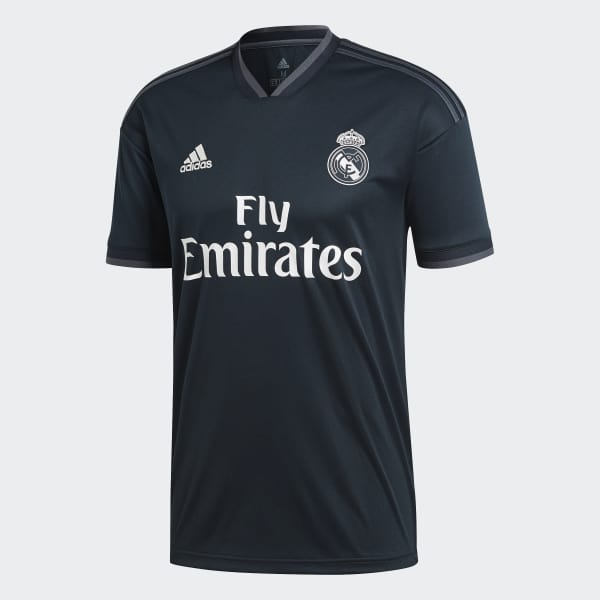 aac9bf96b1776 adidas Jersey de Visitante Real Madrid 2018 - Gris