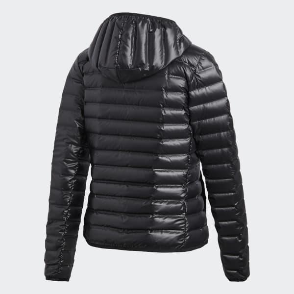 Chaqueta con capucha Varilite Down - Negro adidas  422d5273de0