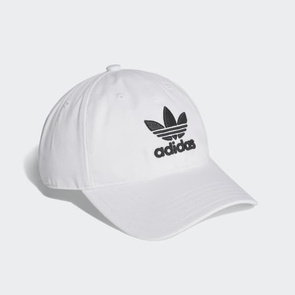 89316c9a184b2 adidas Trefoil Classic Cap - White