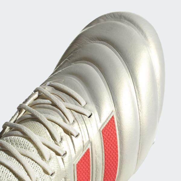 Bota de fútbol Copa 19.1 césped natural seco - Blanco adidas ... ba4ec7a84833c