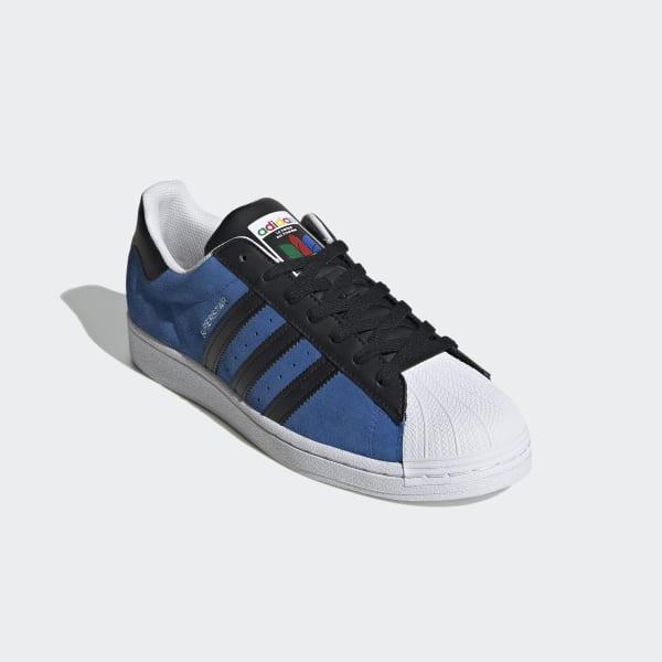 Chaussure Superstar - Bleu adidas | adidas France