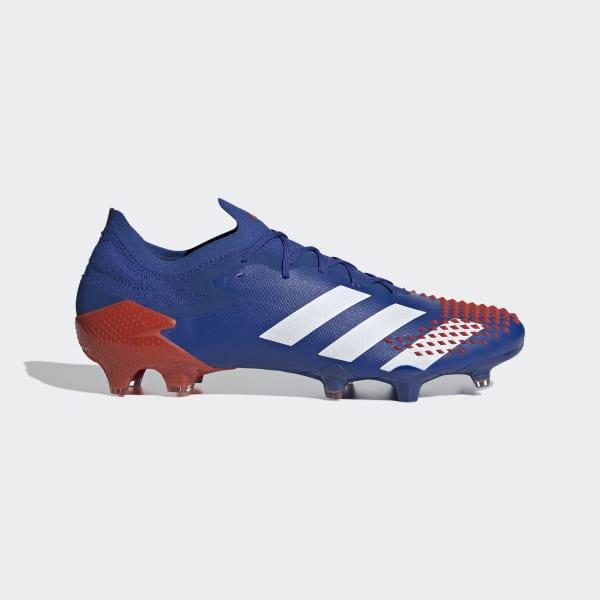Dedicar Aspirar teatro  adidas Predator Mutator 20.1 Firm Ground Cleats - Blue | adidas US