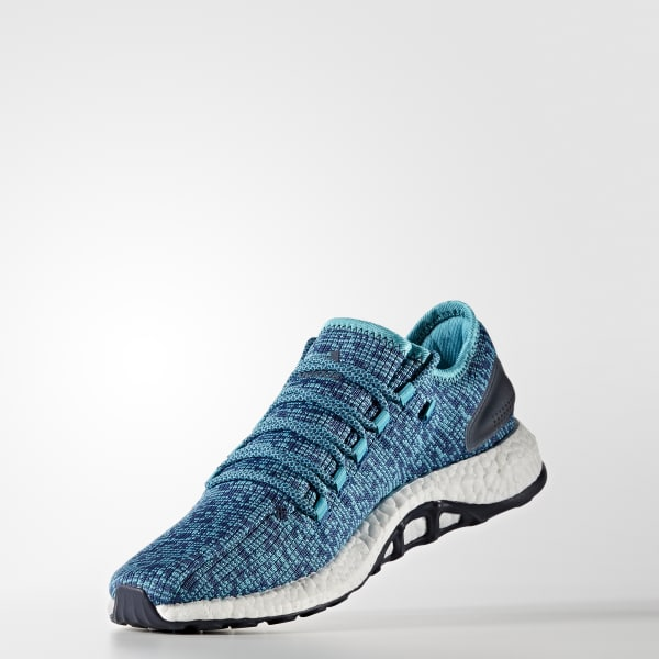 separation shoes 6f386 3d5ef adidas Pure Boost Clima Shoes - Blue   adidas US