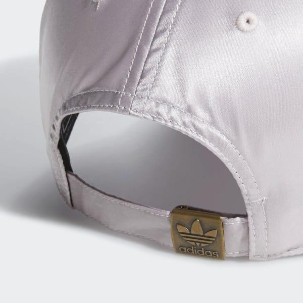 d2a23d4fb0aeb adidas W OG Relaxed Satin Strapback - Purple