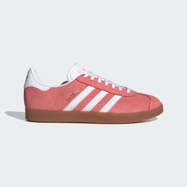 adidas Gazelle Shoes - Red | adidas Canada