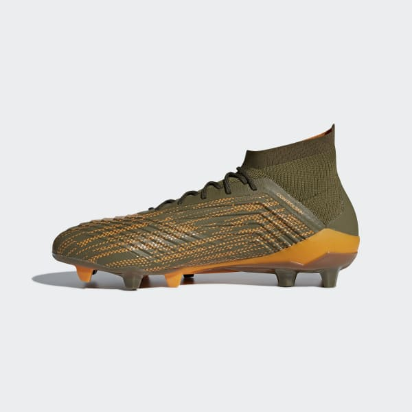 adidas Predator 18.1 Firm Ground Cleats - Green  853223432