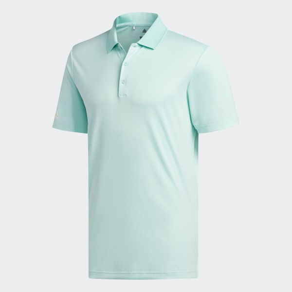 66006b7616bb4 adidas Playera Polo Performance - Turquesa