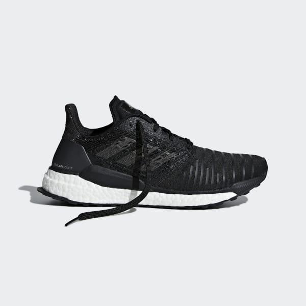 al límite inventar Crueldad  adidas Solar Boost Shoes - Black | adidas UK