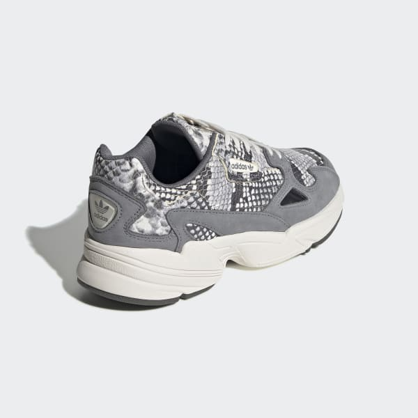 Details zu New Adidas Falcon Snake (EH0192) Grey, Women's Running Shoes Trainer Sneaker