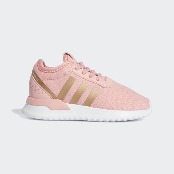 adidas rose gold sneakers